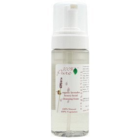 100% Pure Facial Cleansing Foam Lavender Honey