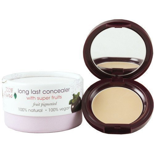 100% Pure Fruit Pigmented Long Lasting Concealer With Super Fruits White Peach