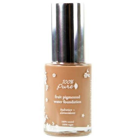 100% Pure Fruit Pigmented Water Foundation Golden Peach