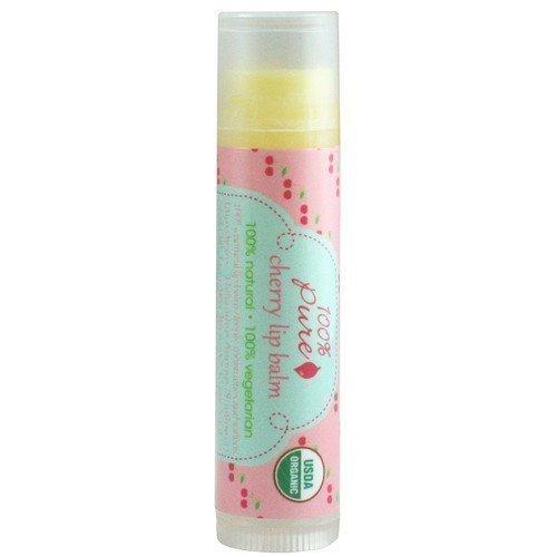100% Pure Organic Cherry Lip Balm