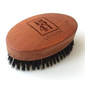 1541 London Military Hair Brush With Pure Black Bristle