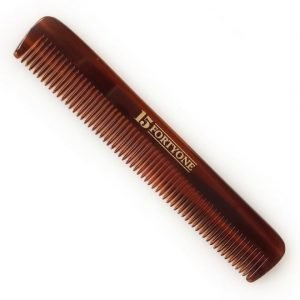 1541 London Pocket Hair Comb (Fine Tooth)