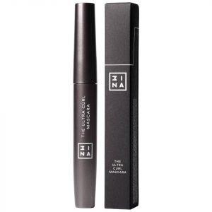 3ina Makeup The Ultra Curling Mascara Black 8 Ml