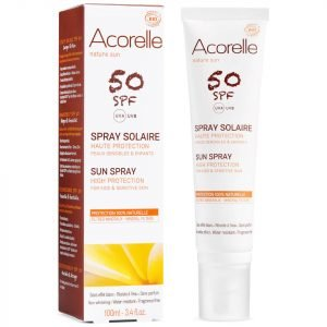 Acorelle Kids' Organic Spf50 Sun Spray 100 Ml