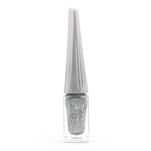 Aden Art Decor Nail Polish Silver Glitter