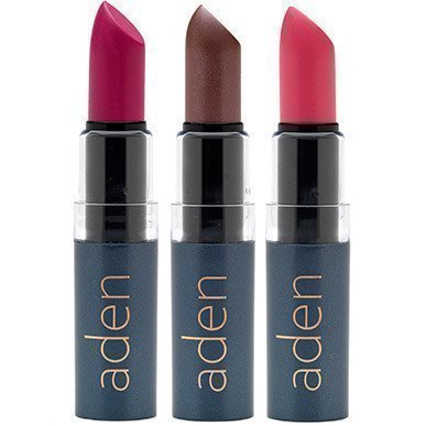 Aden Hydrating Lipstick 19 Saddle Brown