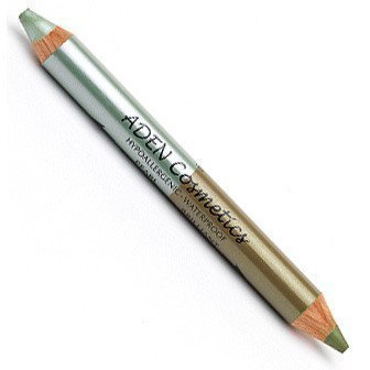 Aden Jumbo Twin Pearl Eyeshadow Waterproof Green-Green