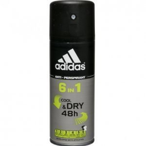 Adidas Cool & Dry 6in1 Deodorantti Miehille 150 Ml