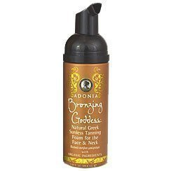 Adonia Bronzing Goddess Natural Greek Sunless Tanning Foam for the Face & Neck