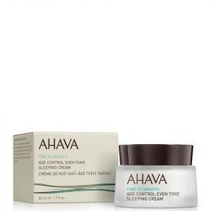 Ahava Age Control Even Tone Sleeping Cream 50 Ml
