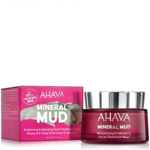 Ahava Brightening & Hydrating Facial Treatment Mask 50 Ml
