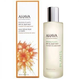 Ahava Dry Oil Body Mist Mandarin And Cedarwood