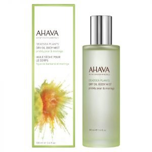 Ahava Dry Oil Moringa And Prickly Pear Body Mist 100 Ml
