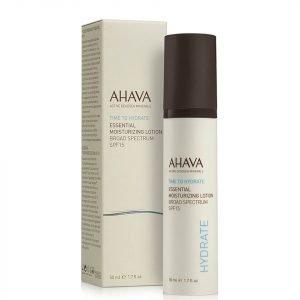 Ahava Essential Moisturizing Lotion Spf 15 50 Ml