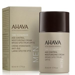 Ahava Men Age Control Moisturizing Cream Spf 15 50 Ml