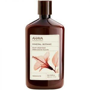 Ahava Mineral Botanic Velvet Cream Wash Hibiscus And Fig