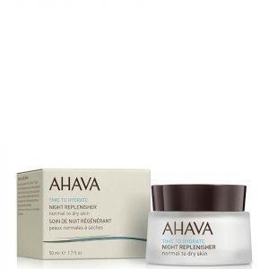 Ahava Night Replenisher Normal To Dry Skin 50 Ml