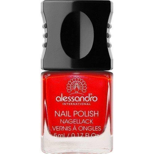 Alessandro Mini Nail Polish Berry Red