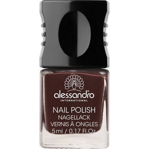 Alessandro Mini Nail Polish Black Cherry