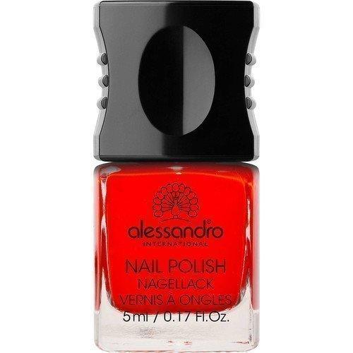 Alessandro Mini Nail Polish Classic Red