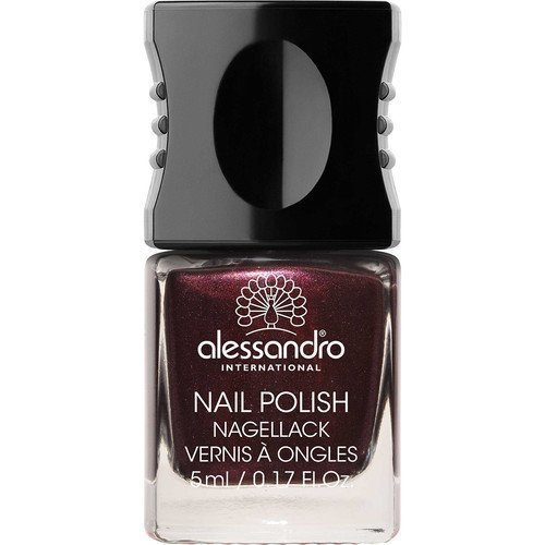 Alessandro Mini Nail Polish Dark Rubin