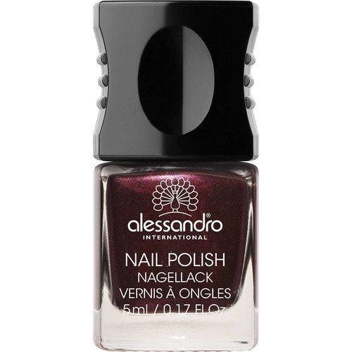 Alessandro Mini Nail Polish Dark Rubin