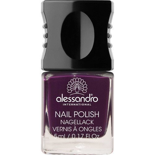 Alessandro Mini Nail Polish Dark Violet