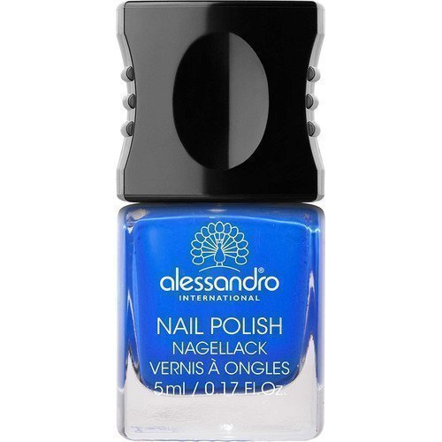 Alessandro Mini Nail Polish Deep Ocean Blue