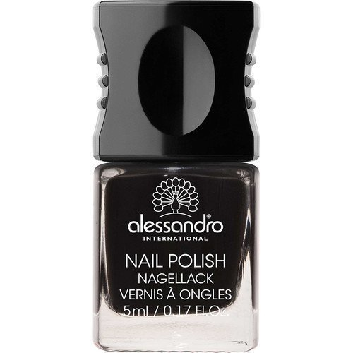 Alessandro Mini Nail Polish Midnight Black