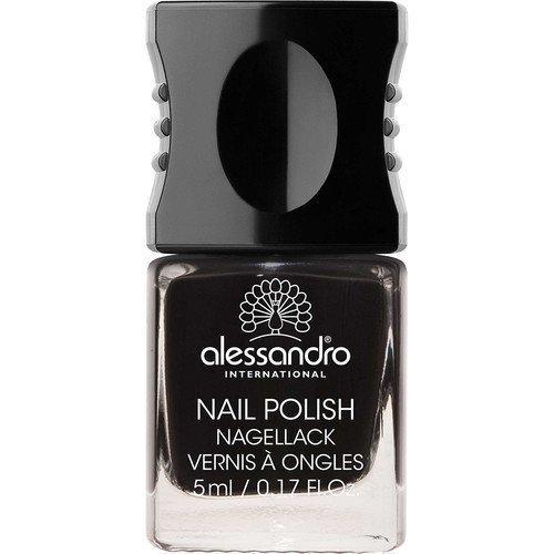 Alessandro Mini Nail Polish Midnight Black