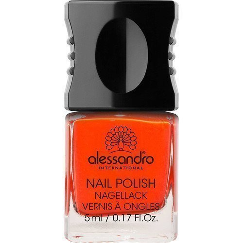 Alessandro Mini Nail Polish Orange Red