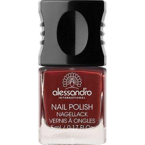 Alessandro Mini Nail Polish Shiny Aubergine