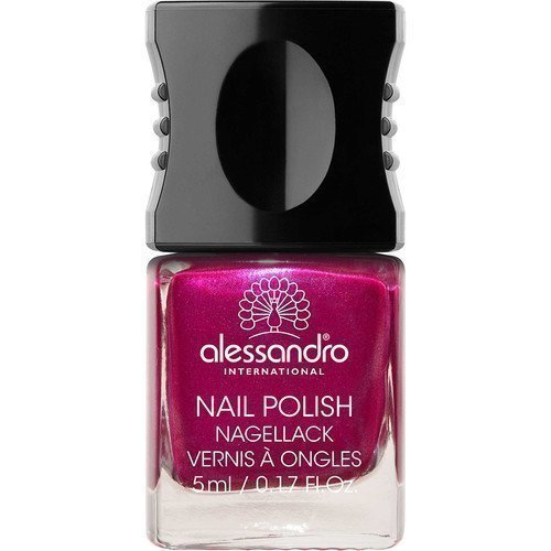 Alessandro Mini Nail Polish Shiny Rubin