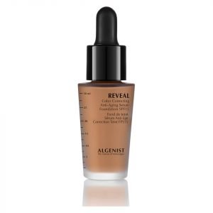 Algenist Reveal Colour Correcting Anti-Ageing Serum Foundation Spf15 30 Ml Various Shades Deep