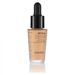 Algenist Reveal Colour Correcting Anti-Ageing Serum Foundation Spf15 30 Ml Various Shades Light