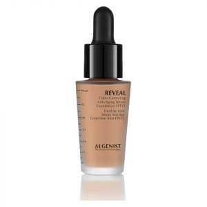 Algenist Reveal Colour Correcting Anti-Ageing Serum Foundation Spf15 30 Ml Various Shades Medium