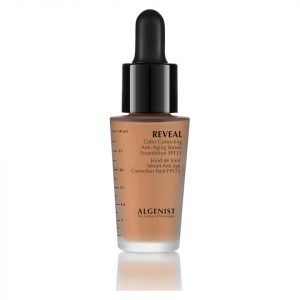 Algenist Reveal Colour Correcting Anti-Ageing Serum Foundation Spf15 30 Ml Various Shades Tan