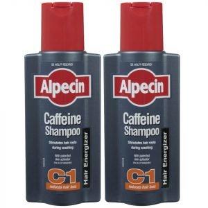 Alpecin Caffeine Shampoo C1 Duo 250 Ml