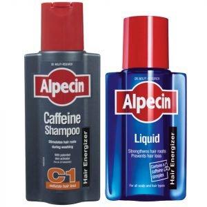 Alpecin Liquid And Caffeine Shampoo Duo