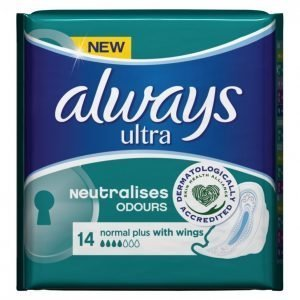 Always Ultra Normal Plus Terveysside 14 Kpl