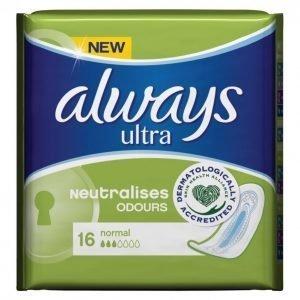 Always Ultra Normal Terveysside 16 Kpl