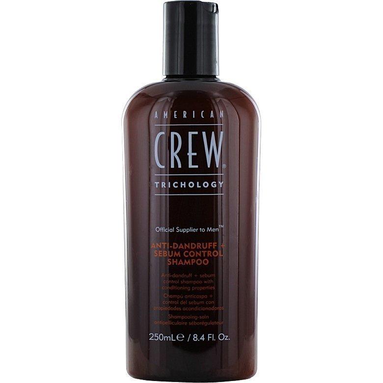 American Crew Anti-Dandruff Sebum Control Shampoo 250ml
