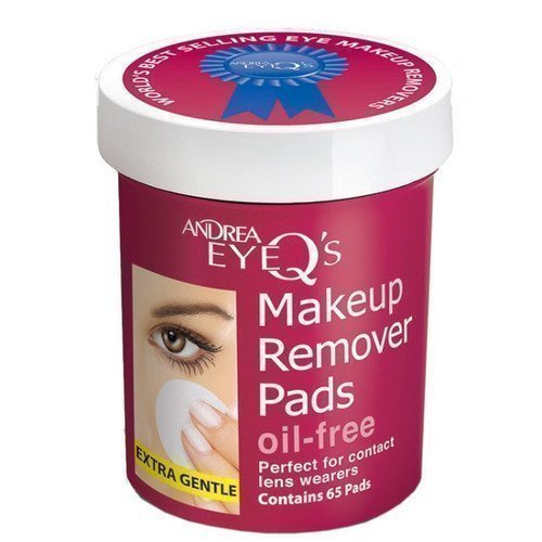 Andrea Eye Q Makeup Remover Pads Oil-Free