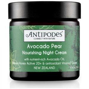 Antipodes Avocado Pear Nourishing Night Cream 60 Ml