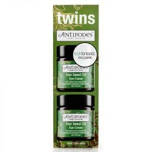 Antipodes Exclusive Twin Pack Kiwi Seed Oil Eye Cream 2 X 30 Ml
