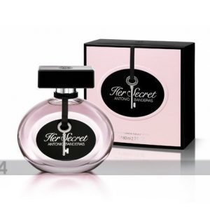 Antonio Banderas Antonio Banderas Her Secret Edt 80ml