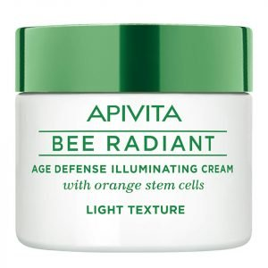 Apivita Bee Radiant Age Defense Illuminating Cream Light Texture 50 Ml