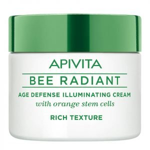Apivita Bee Radiant Age Defense Illuminating Cream Rich Texture 50 Ml