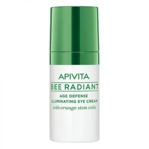Apivita Bee Radiant Age Defense Illuminating Eye Cream 15 Ml