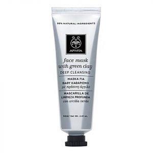 Apivita Deep Cleansing Face Mask Green Clay 50 Ml